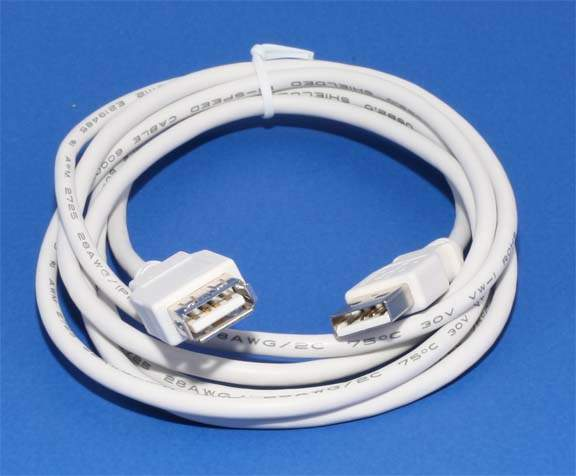 USB 2.0 Passive Extension Cable 6Ft Male Female