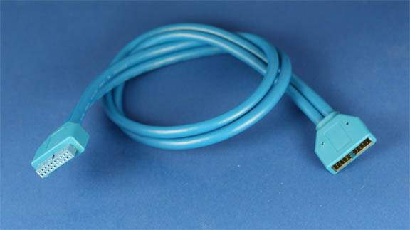 USB 3.0 Housing Cable 20 Pin Male to 20 Pin Female 20 Inch