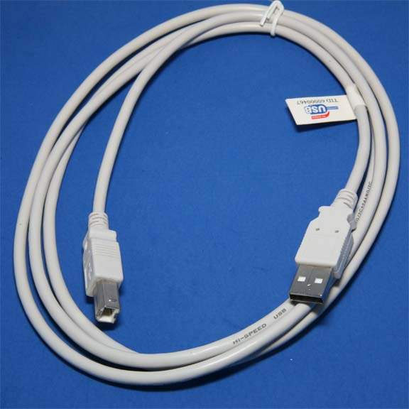 USB CABLE TYPE A to TYPE B CABLE 6FT