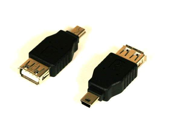 USB CAMERA ADAPTER TYPE A-Female to MINI-B 5-Male
