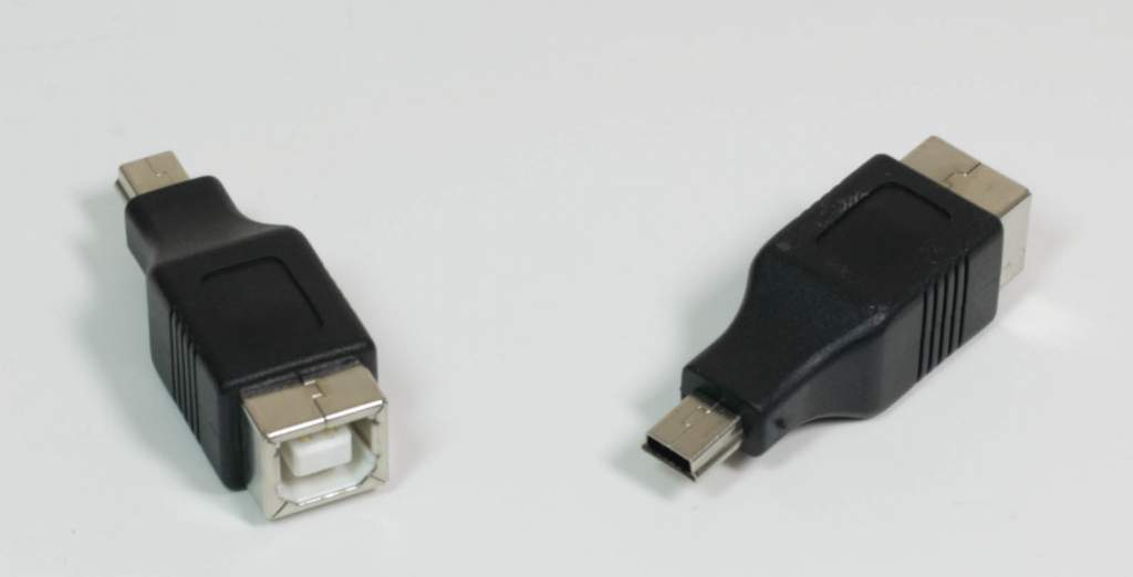 USB Camera Adapter TYPE B-Female to MINI-B 5-Male