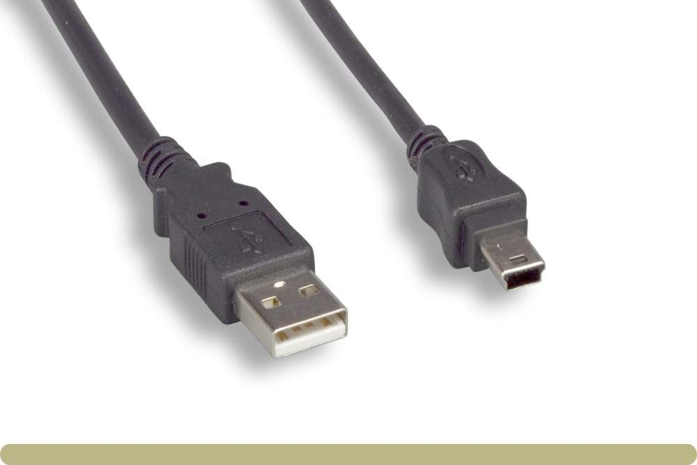USB Camera Cable MINI-B 5-Wire FUJI DCUP-1 6FT