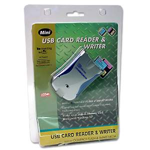 USB MEMORY CARD READER SMARTMEDIA COMPACTFLASH USB 1.1