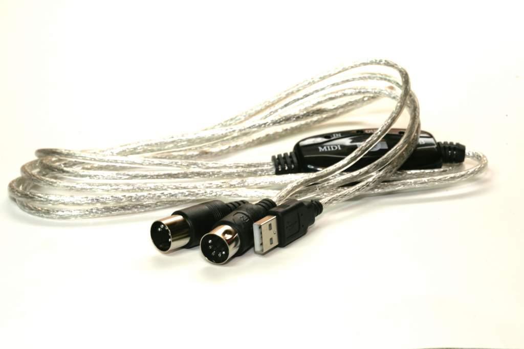 USB to MIDI MIDI-IN MIDI-OUT
