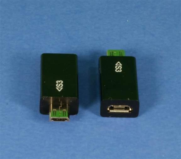 USB Micro-11 Pin Male to USB Micro-5 Pin Female Adapter