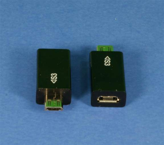 USB Micro-11 Pin Male to USB Micro-5 Pin Female Adapter