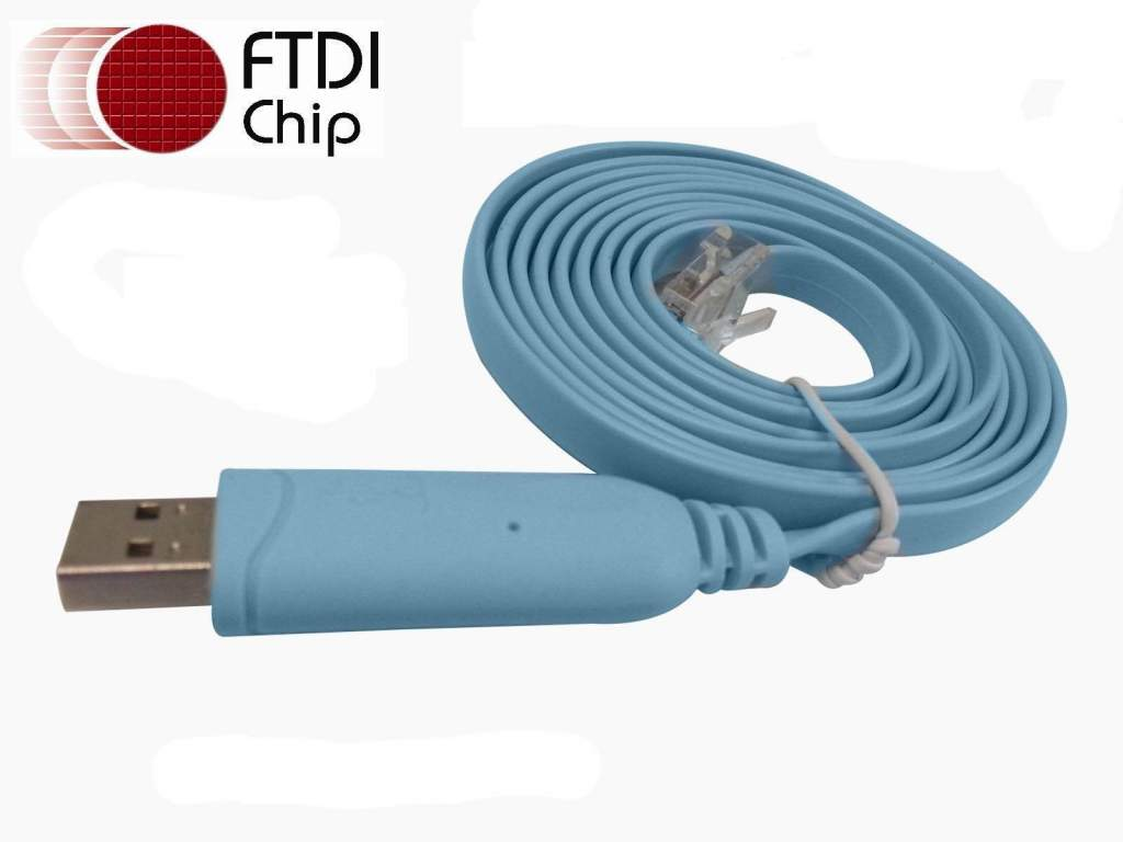 USB to RJ45 Cable Cisco Router Console
