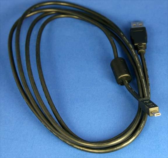 VIVITAR USB Camera Cable D6 8PIN