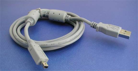 VIVITAR VIVICAM USB Camera Cable 6FT D3